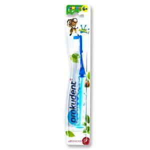 真正德国口腔护理专业品牌,德国儿童口腔护理,prokudent必固登洁儿童牙刷6岁以上,换牙期牙刷,儿童牙缝如何清洁,儿童预防龋齿,乳牙期换牙期刷牙