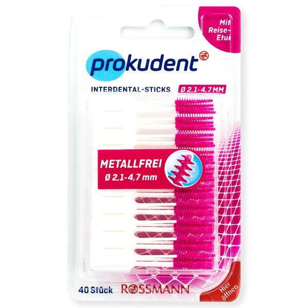 prokudent软胶牙缝刷清洁牙缝,真正德国口腔护理专业品牌,德国口腔护理